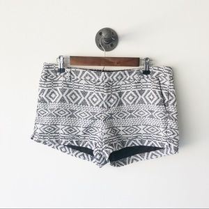 Merona shorts with cute Aztec design size 10